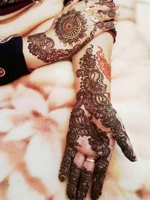 pakistani mehndi designs 2016- new