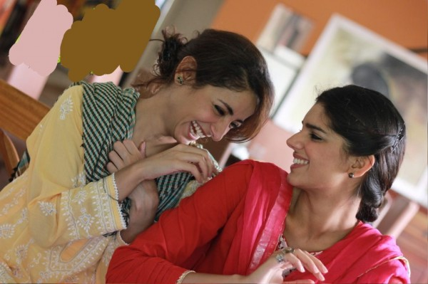 sanam saeed and sarwat gillani friend