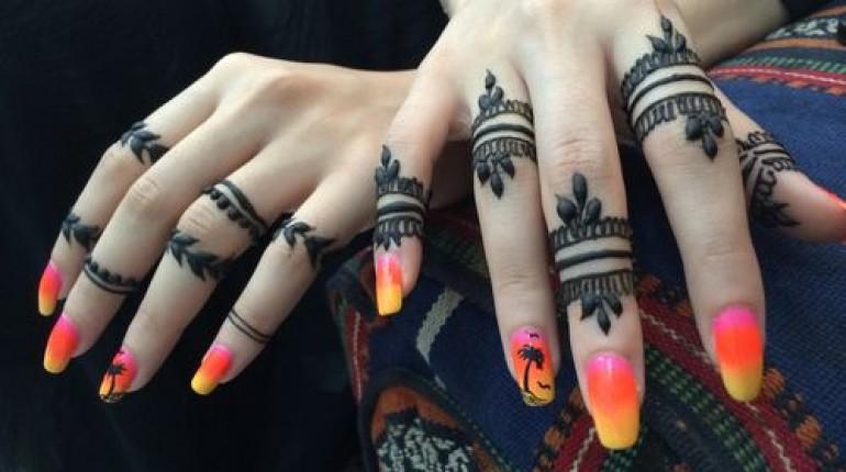 Mehndi Designs In Fingers : Stylish mehndi designs