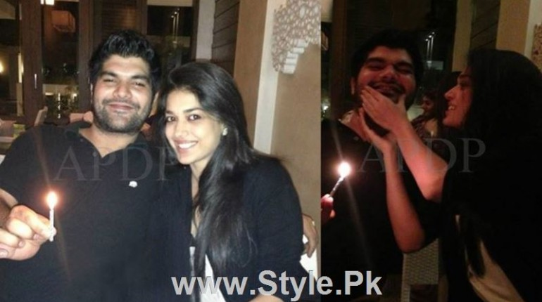 See Pictures of Sanam Jung with her Fiance Qassam Jafri