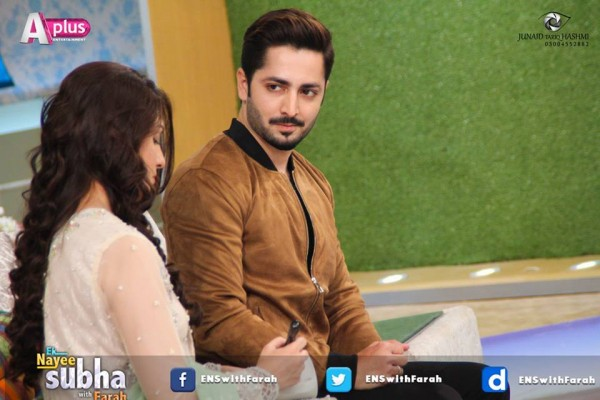 Ayeza Khan and Danish Taimoor in Ek Nayee Subha (10)