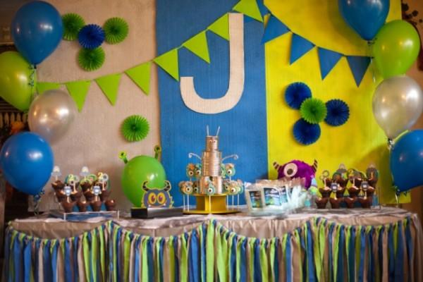 Birthday Decoration Ideas 2016 -blue