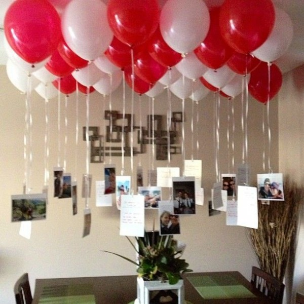 birthday decoration ideas 2016 red whitw