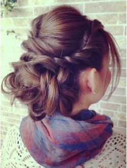 Braided Hairstyles 2016 for Girls -twisted