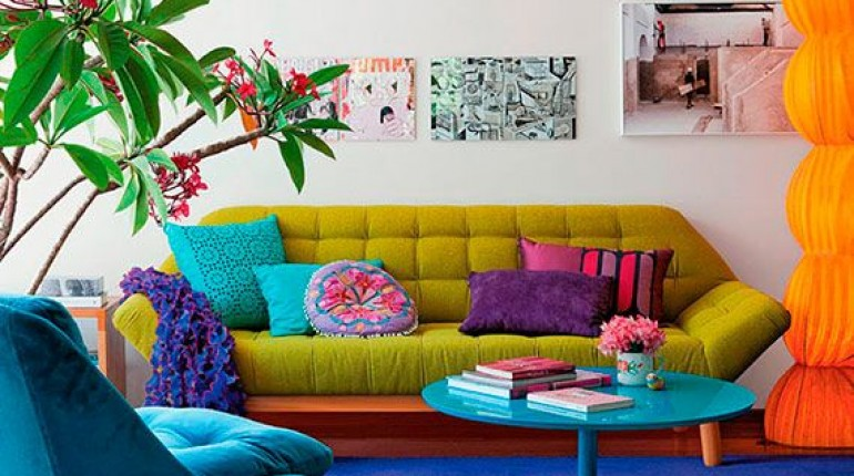 Colorful Interior Home Decoration