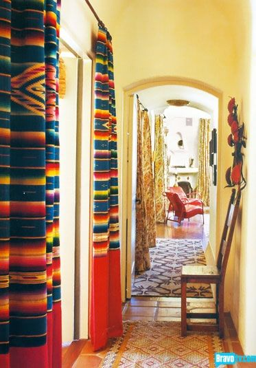 Colorful Interior Home Decoration- curtain