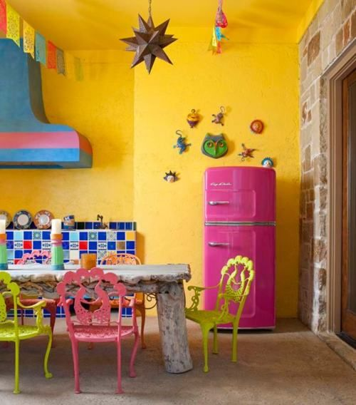 Colorful Interior Home Decoration-kitchen