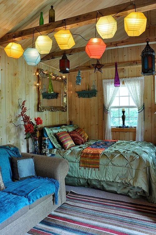 Colorful Interior Home Decoration-lights