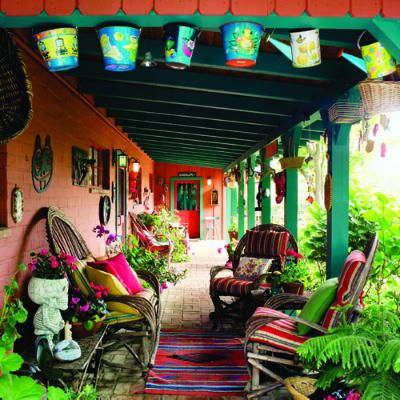 Colorful Interior Home Decoration-loby