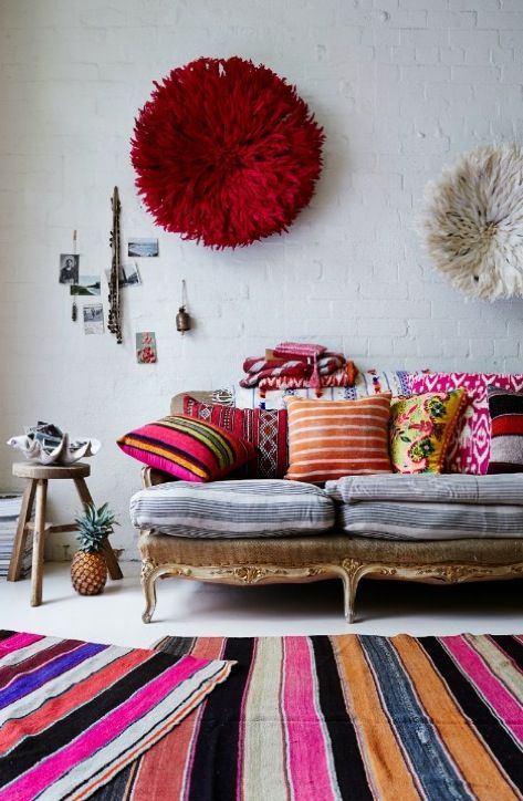 Colorful Interior Home Decoration-rug