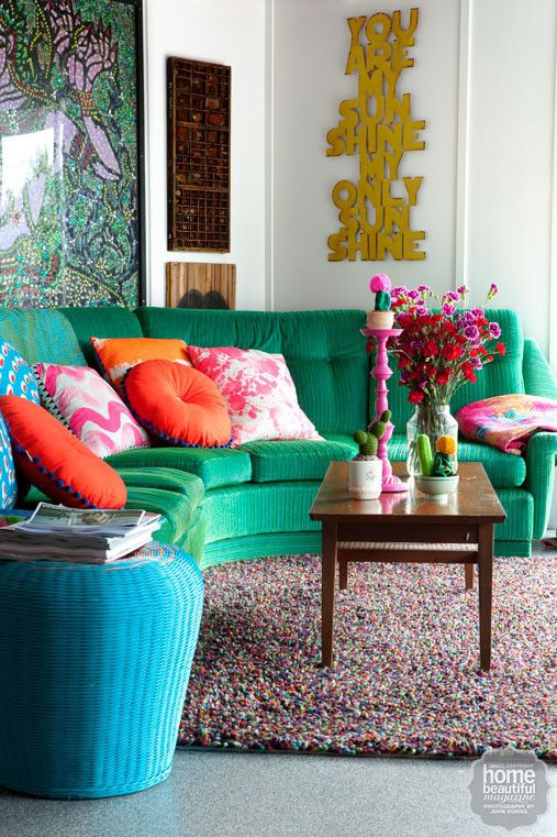 Colorful Interior Home Decoration-sofa