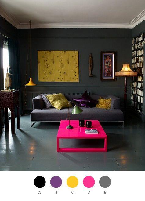 Colorful Interior Home Decoration-theme