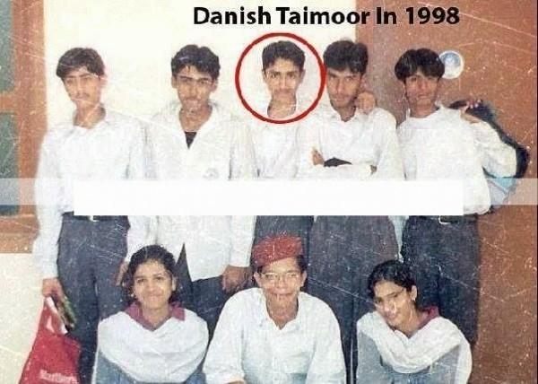 Danish Taimoor in school