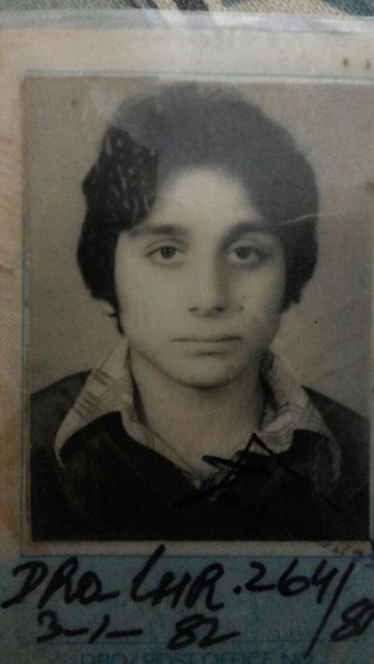 Faisal Rehman school days