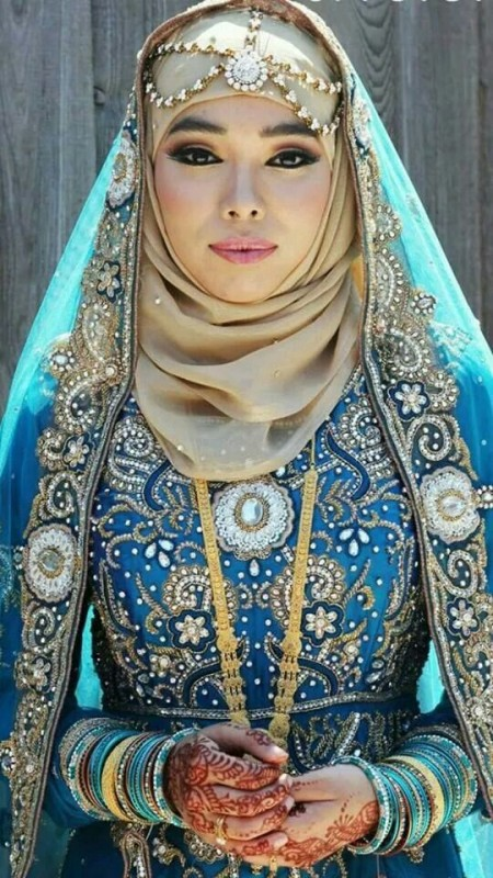 Formal Hijab Styles 2016-wedding