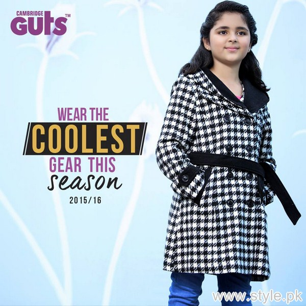 d453e7b0b601 Guts Winter Collection 2016 For Kids - Style.Pk