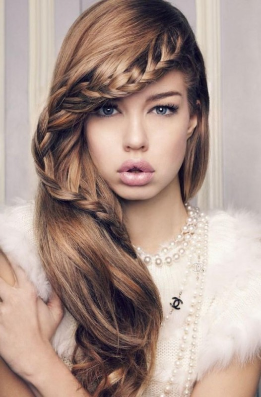 Hairstyle 4 Girl : Hairstyles of medium hair for girls