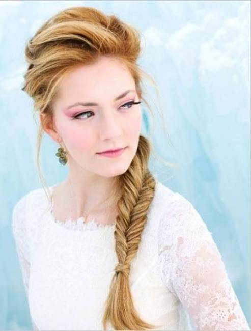 Hairstyles of medium hair for girls 2016 - Style.Pk