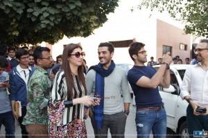 Ho Mann Jahaan cast at IOBM University