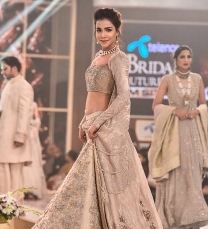 Humaima Malick in Bridal Couture Week Pakistan