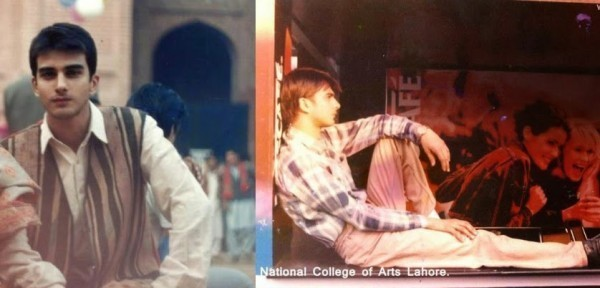 Imran Abbas in college