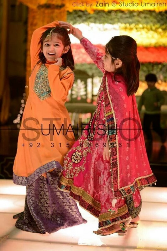 Kids Fancy dresses 2016 in Pakistan--