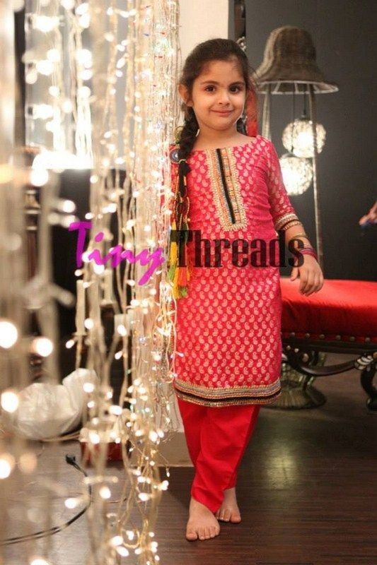 Kids Fancy dresses 2016 in Pakistan- bnarsi