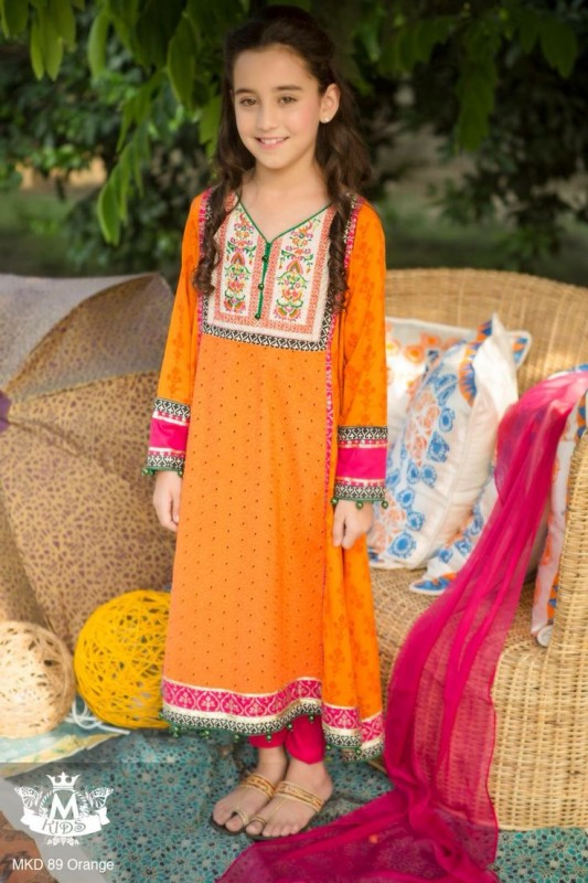 Kids Fancy dresses 2016 in Pakistan- formal