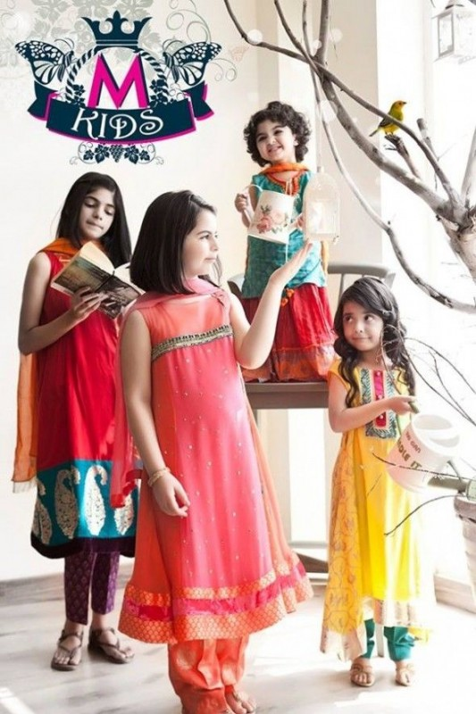 Kids Fancy dresses 2016 in Pakistan-maria.B