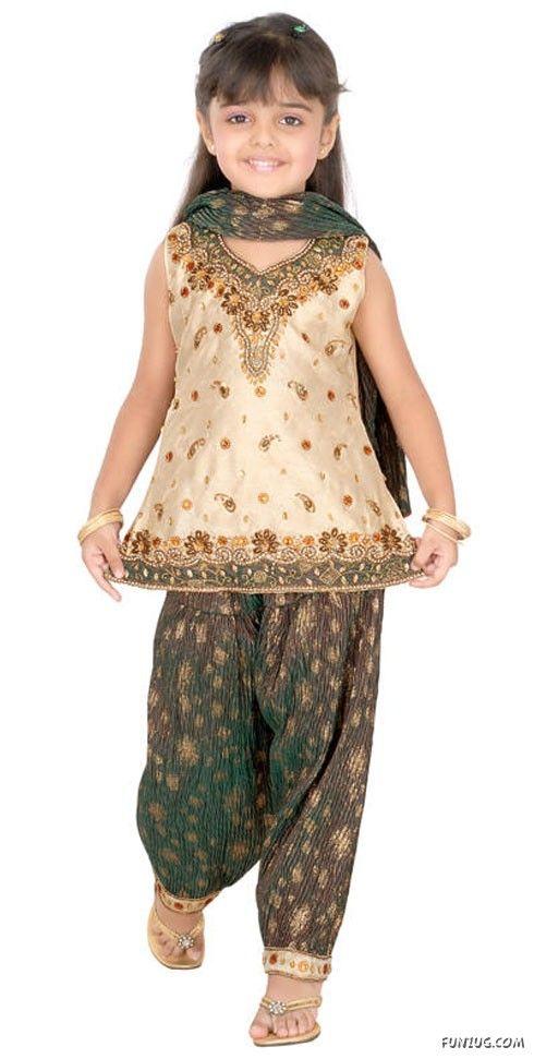 Kids Fancy dresses 2016 in Pakistan-shlwar
