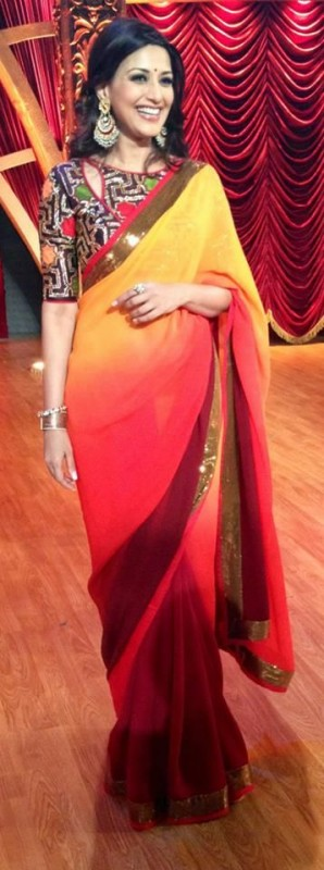 Colored Latest Sarees Designs