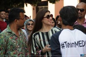 Mahira Khan at IOBM University