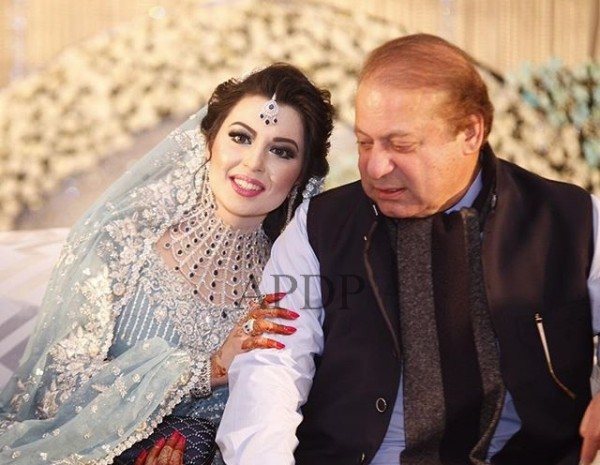 Maryam nawaz daughter reception 001