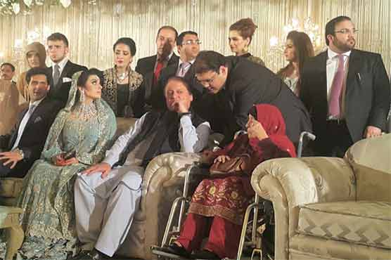 Maryam nawaz daughter reception  002