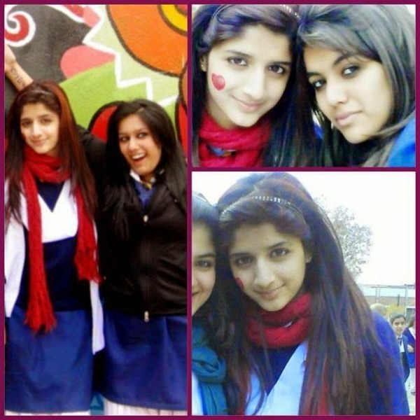 Mawra Hocane in college