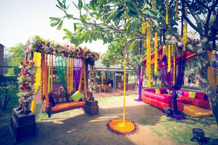 Mehndi Decoration Ideas 2016 Lawn