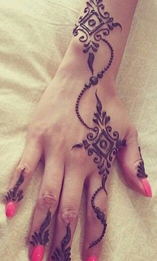 Mehndi Tattoo 2016 for girls--2016