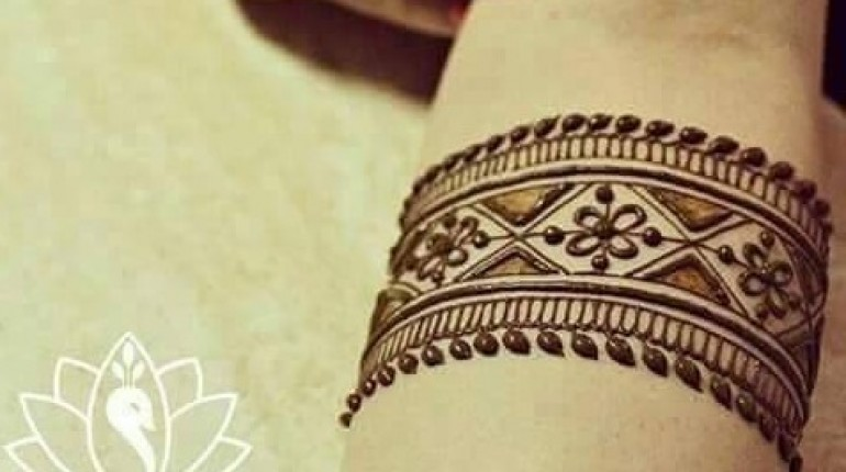 Mehndi Tattoo 2016 in pakistan