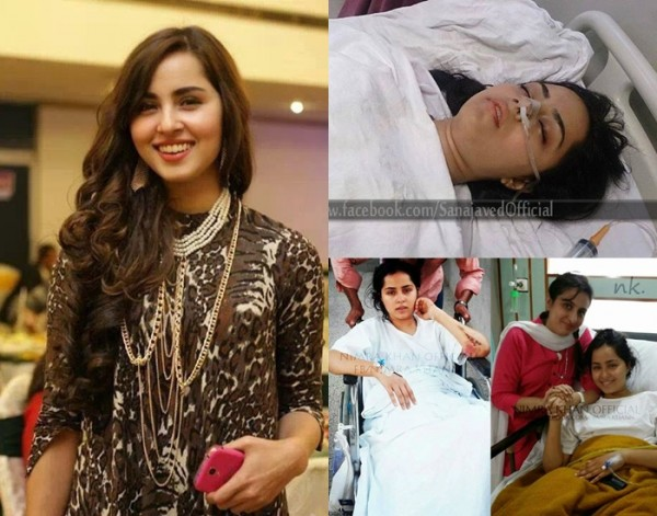 Nimra Khan accident photos