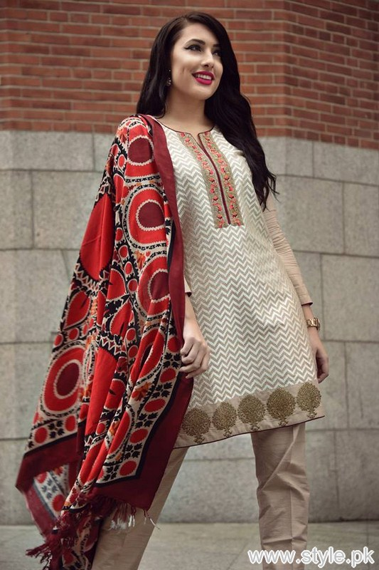 Nimsay Winter Dresses 2016 For Girls 8