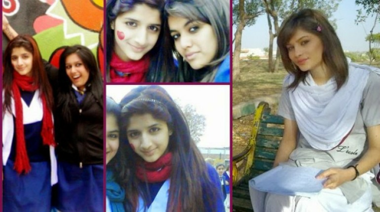 Pakistani Celebrities School and College Days Pictures