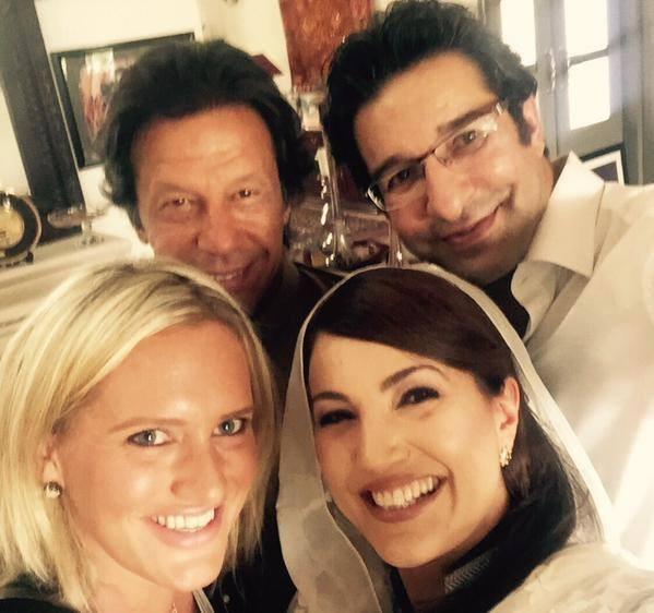 Reham Khan selfie