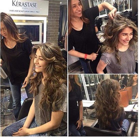 Syra Shehroz new hairstyle