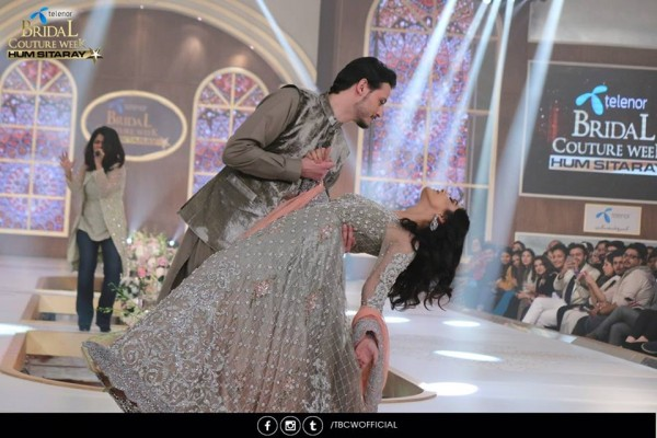The beautiful couple Maya Ali and Osman Khalid Butt romanced on ramp (8)