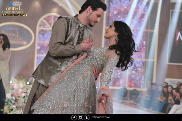 The beautiful couple Maya Ali and Osman Khalid Butt romanced on ramp (9)