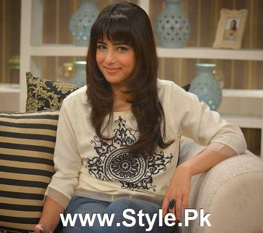 Ushna Shah in new haircut (5)