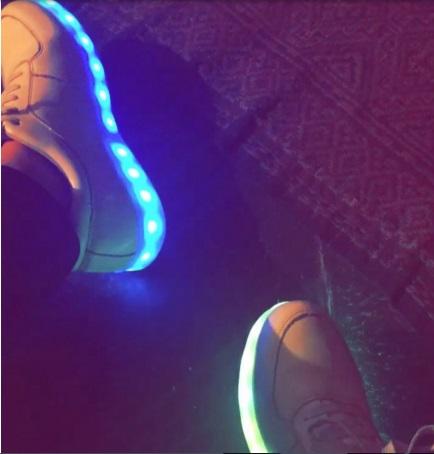 Uzair Jaswal light shoes