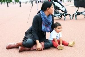 Veena Malik latest pics with family
