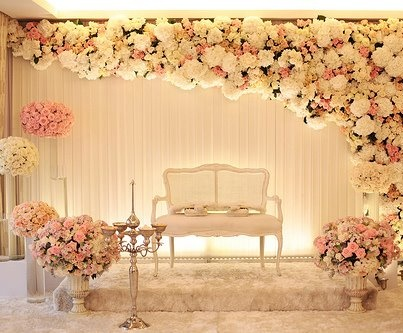 Wedding stage decoration ideas 2016 for 25th wedding anniversary stage decoration