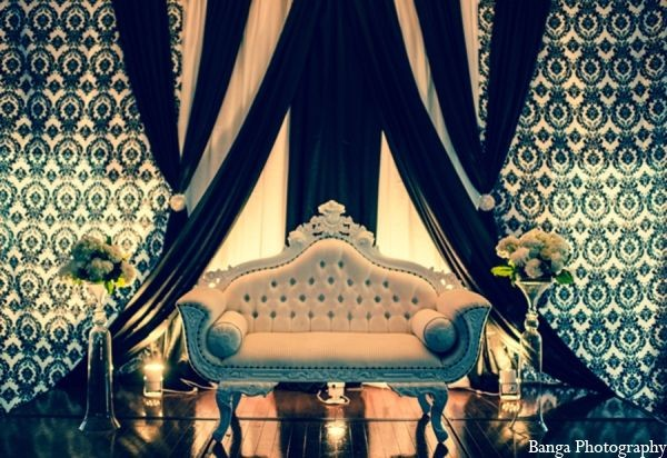 Wedding  Stage Decoration Ideas 2016-black white